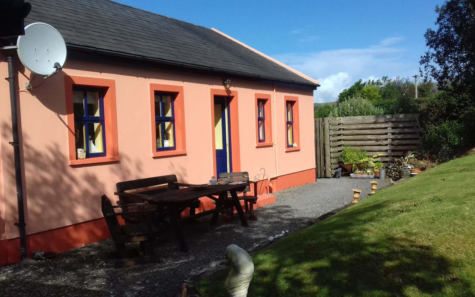 Manannan Cottage zitje