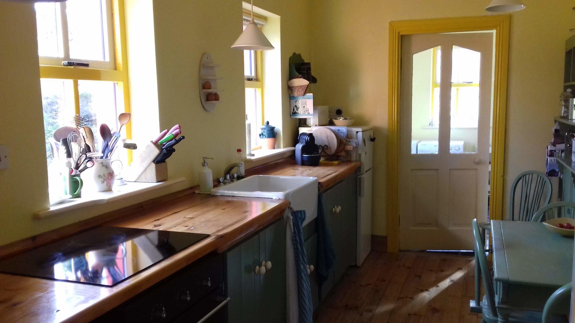 Manannan Cottage keuken
